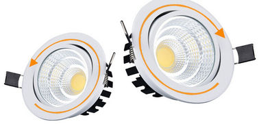 China Factory , Plant , Warehouse , Home Recessed LED Downlights 7w 700 - 750lm supplier