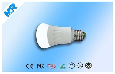 China Aluminum / PC dimmable Intelligent Light Bulb 6w 5630SMD  ,  E27 Light Bulb supplier