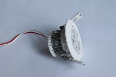 China High Power Recessed Led Downlight / Ceiling Light 3watt 30 / 45 / 60 / 90 / 120 Degree Replace 50w Halogen supplier