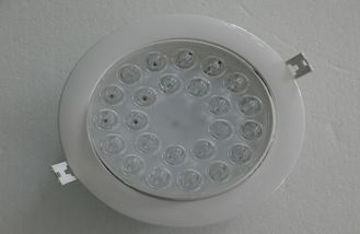 China Slim 24w Aluminum led recessed downlight , Household LED Lighting supplier