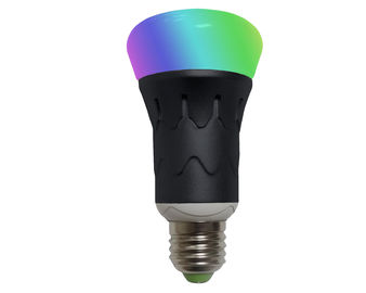 China Iphone Android available LED Smart Light Bulb RGB 6Watt Indoor lighting supplier