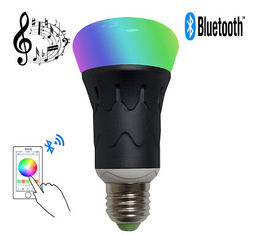China MR RGBW LED Bluetooth Speaker Bulb Dimmable Multicolored Color Changing supplier