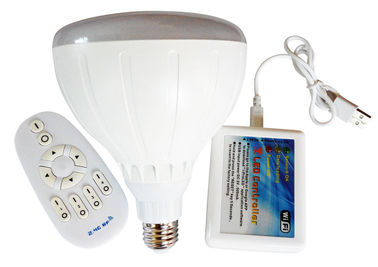 China Multi-Color Changing Smart Light Bulbs Wifi 2.4GHz Bluetooth supplier