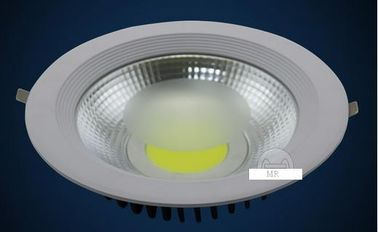 China Casting Aluminium COB Recessed Led Downlight Lamp 20w 30w Led Exterior Downlights factory