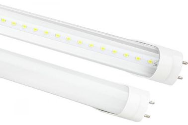 China PC / Aluminum 24w 6000K T8 LED Light Tubes 1500mm 2700lm AC100 - 277V For Living Room distributor