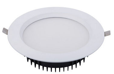 China Round Recessed LED Downlight 240v 15w Ip44 With 50000hours Long Life Span factory