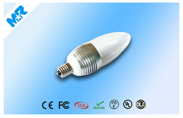 China IP54 LED Candle Light Lamps E17  Wide Angle White CE / Rohs distributor