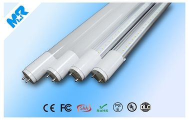 China High CRI Aluminum 10w T8 LED Light Tubes , office tube lights distributor