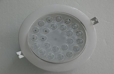 China Slim 24w Aluminum led recessed downlight , Household LED Lighting factory