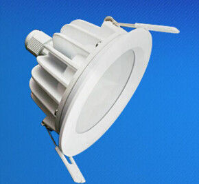 China IP65 Waterproof Recessed LED Downlight 5W - 18W For Conference Room distributor