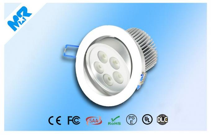Exterior Recessed LED Downlight 5000k 5w Ip44  , Residential Recessed Lighting