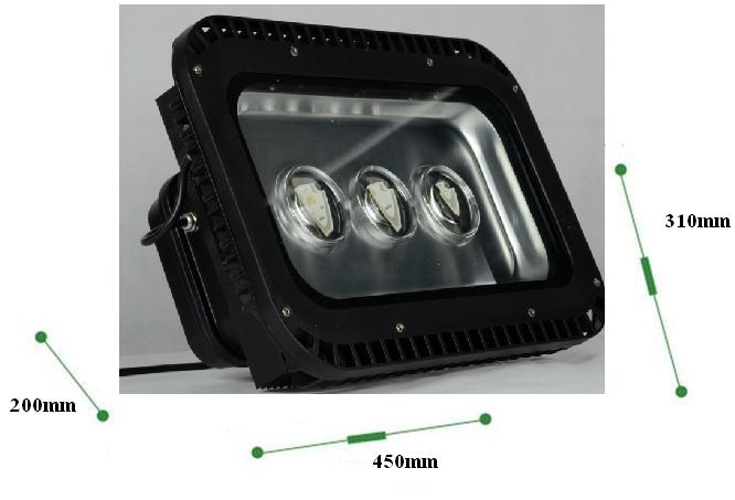 150w 180w 210w Outdoor Security Exterior Led Flood Lights High Bright