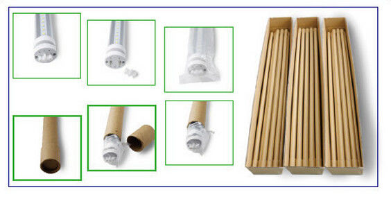 High Brightness 1200mm T8 LED Light Tubes , LED t8 replacement tubes 5000K - 6000K