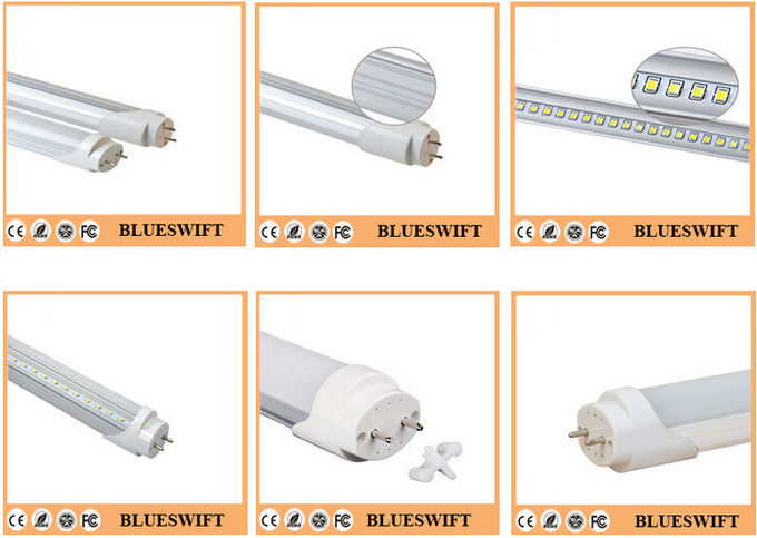18 Watt Non Retrofit  T8 LED Light Tubes Intergrated  2700lm